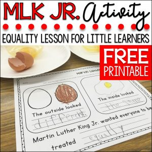 Martin Luther King Jr. FREEBIE