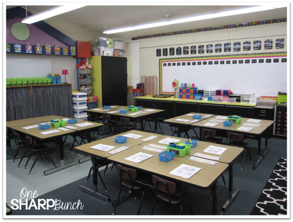 http://onesharpbunch.com/2014/08/classroom-reveal-first-day-freebies/
