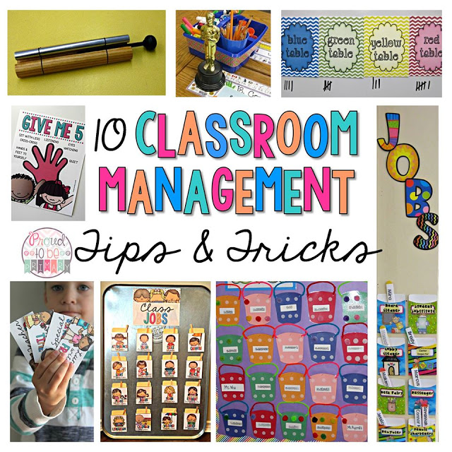 Elementary Classroom Management Techniques ~ Classroom management tips tricks freebies one sharp