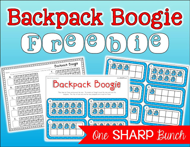 This back to school FREEBIE is sure to build number sense and keep your Kindergarten kiddos engaged during the first days of school! We love to get our