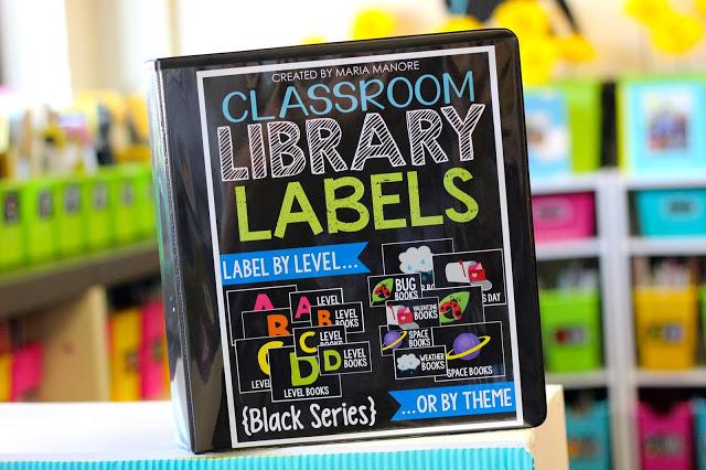 https://www.teacherspayteachers.com/Product/Classroom-Library-Labels-EDITABLE-for-Bins-Books-Black-Series-1231026