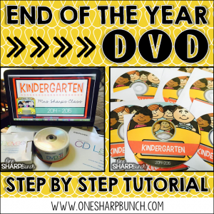 End of the Year Video Tutorial {Part 1:  Movie Maker}